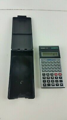 Vintage Casio FX-100D  Super-FX calculator