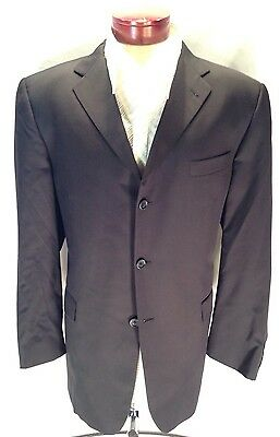 C733 Burberry for Nordstrom Sport Coat NAVY Blazer 100% Wool Made in USA 46R