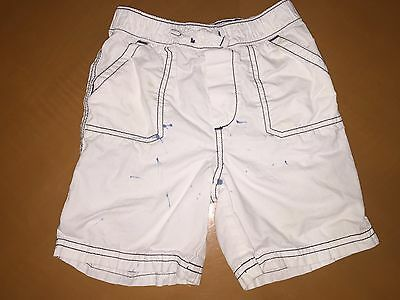 Baby Boys Toddlers Baby Gap White Shorts Bottoms Size 18-24 Months 100% Cotton
