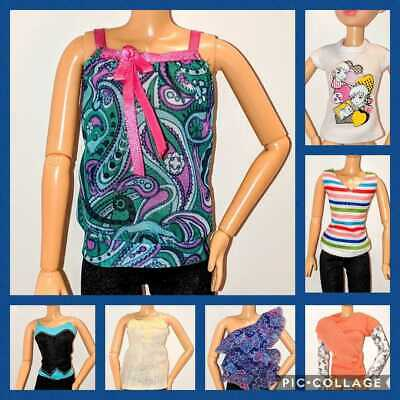 Genuine LIV SPINMASTER Doll Clothes - TOPS - *CHOOSE* fit Barbie Too!