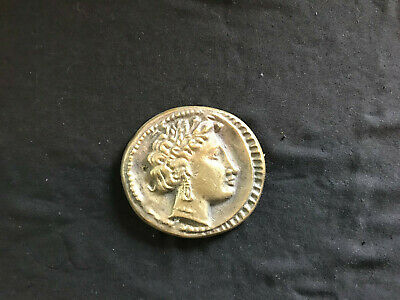 Antique Greek Coin / Paperweight