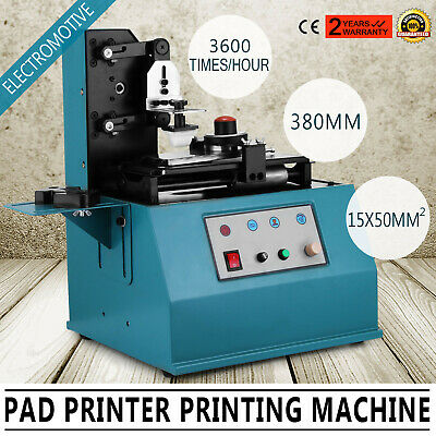 TDY-300 Pad Printer Date Logo Printing Machine Cup Smooth Electric Mark Press