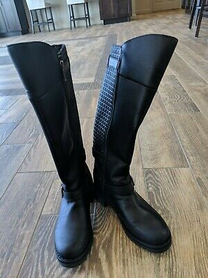 440298fdb3ff6c Harley-Davidson® Women s Kedvale Knee-High Leather Motorcycle Boots D83899