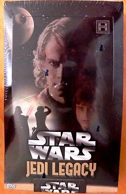 Topps Star Wars Jedi Legacy Factory Sealed Hobby Box-Chewbacca Hair??