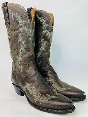 d2147c56479 WOMENS LUCCHESE 1883 Western Boots size 7.5 excellent condition ...