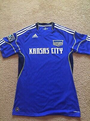 new arrival 8980d a6e46 VINTAGE KANSAS CITY Wizards jersey MLS