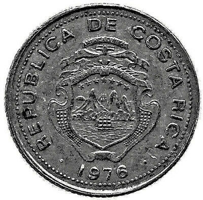 1921 Costa Rica 10 Centimos Lot#x8544 North & Central America Coins