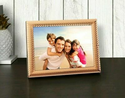 """WiFi Digital picture Frame Touch screen Polaroid 8"""" Photo Rose gold PDWF-800RT"""