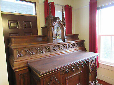ALTAR, Antique Victorian, Over 100 Years Old, Ornate