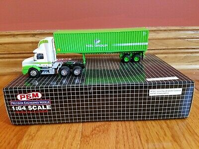 """Rare 1:64 20ft KDW Alloy Metal Container DIECAST MODEL 1//50 13cm 5/"""" Ramdon Color"""