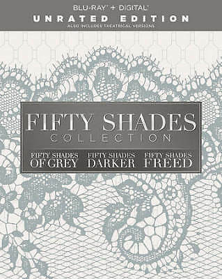 Fifty Shades: 3-Movie Collection (Blu-ray Disc, 2018)