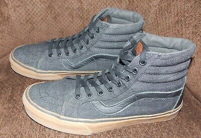 NWOB MEN'S VANS SK8 HI VN0A2XSBQQJ (Denim C L) Dress Blues