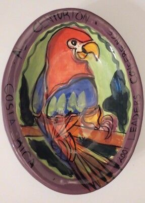 Costa Rica Pottery~McCaw Bowl~Homestead~Signed by Artist~Leaders Conference 2001