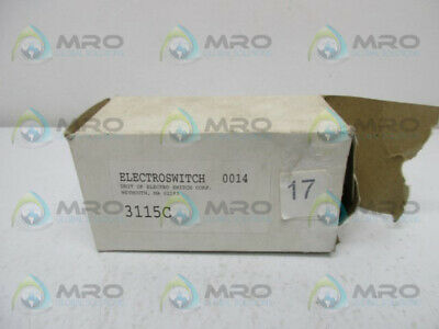 Electroswitch 3115C Rotary Switch * New In Box *