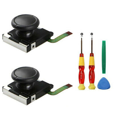 2pcs Joystick Analog Rocker + Repair Opening Tools for Nintendo Switch Joy con