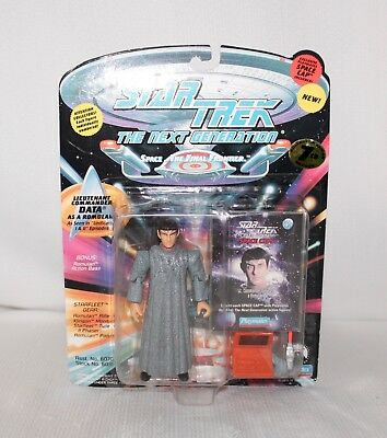 "1994 STAR TREK The Next Generation ""Lt Comm Data As A ROMULAN"" Action Figure IOB"