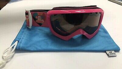23fbc20bee8 GIRO CHICO YOUTH Snow Goggles Small Red Black Camo with Amber Rose ...