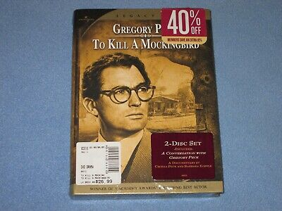TO KILL A MOCKINGBIRD (DVD, 2005, 2-Disc Set, Special Edition) ***BRAND NEW!***