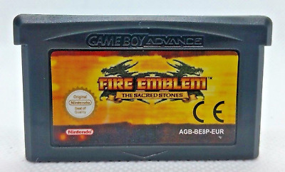 Fire Emblem The Sacred Stone Cartridge Card for Game Boy Advance GBA SP NDS NDSL