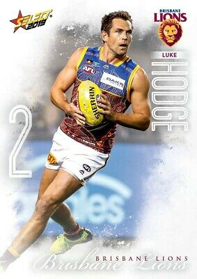 2019 Afl Select Footy Stars Brisbane Lions Common Team Set All 12 Cards