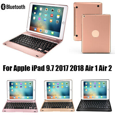 "Wireless Bluetooth Keyboard Case For Apple iPad Air1 Air2 Pro 9.7"" 2017/2018 UK"