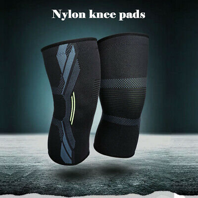 Knee Sleeve Compression Brace Support For Sport Joint Arthritis Pain Relief