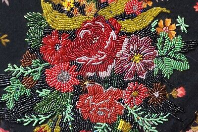 Antique Vintage Beadwork Needlework Embroidery