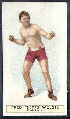 Wills Other Overseas Issues-Boxers Boxing- Fred Thomas Welsh