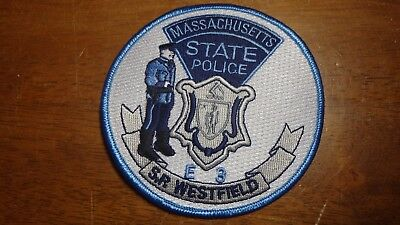 OBSOLETE MASSACHUSETTS STATE Police License Plate (MA
