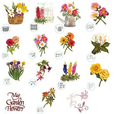 My Garden Flower Metal Cutting Dies Stencil For DIY Scrapbooking Embossing Cards