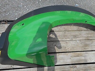 John Deere OEM Left Side Fender and Extension fits 7R and 8R Series Tractors