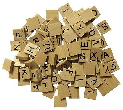Wooden Pick And Mix **CHOOSE YOUR OWN* Scrabble Letters  Tiles UK SELLER