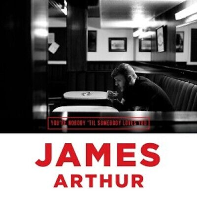 James Arthur - You're Nobody 'Til Somebody Loves You  Cd Single  2 Tracks  New+