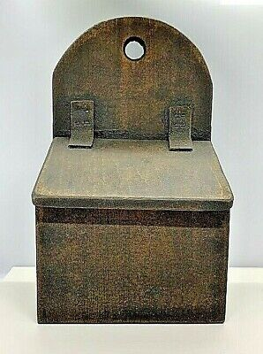 Primitive Wood Recipe/Spice/Saltbox*Primitive/French Country/Farmhouse Colonial