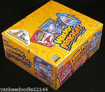2014 Topps Wacky Packages Series 1 Hobby Version Factory Sealed Box 24/10Ct