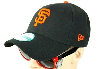 finest selection 6f216 69a32 New ERA San Francisco Giants Hats Mens Black 9Forty Adjustable Band