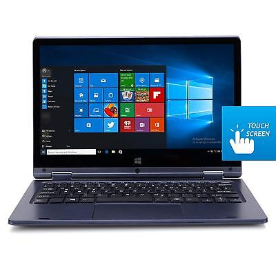 """HKC Y11CC 11.6"""" Touch Screen Convertible Notebook Laptop Win 10 Blue 2GB, 32GB"""