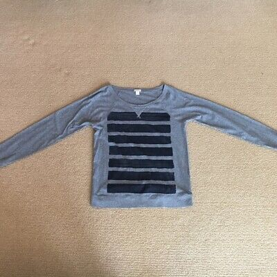 Women's J. Crew Gray Long Sleeve Shirt, Size Small Gently Used