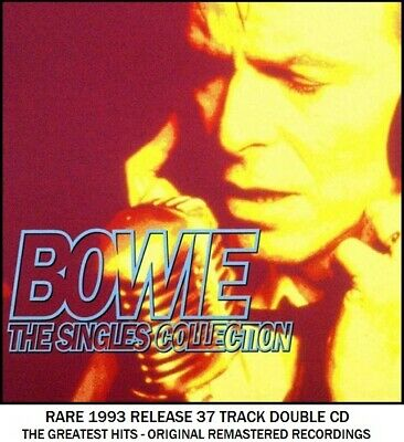 David Bowie - The Very Best Essential Greatest Hits Collection RARE Rock Pop 2CD