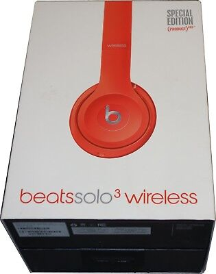 5d38d4bc3d7 Apple Beats Solo3 On Ear Wireless Headphones Special Edition Red MP162LL/A