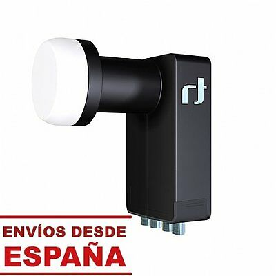 LNB Inverto Black Ultra Quad Hi-Gain Uln (Technology Reduction Noise) HDTV 4k
