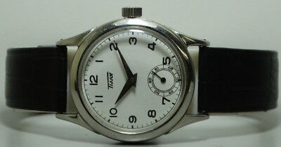 Vintage Tissot Winding Swiss Made Used Wrist Watch k53 Old Antique