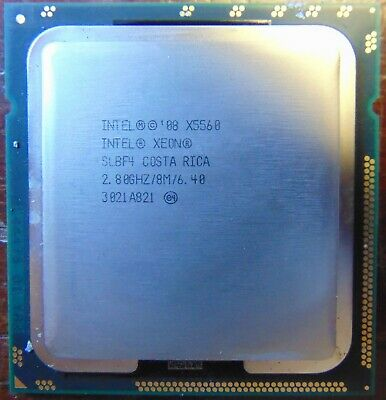 Intel Xeon X5560 2.8GHz 8M SLBF4 LGA 1366 Quad Core CPU Processor