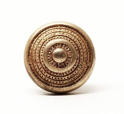 Small Polished Brass Cabinet or Shutter Knobs