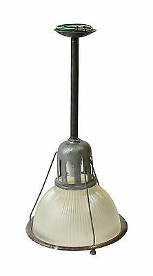 12 in. Industrial Holophane Factory Pendant Light