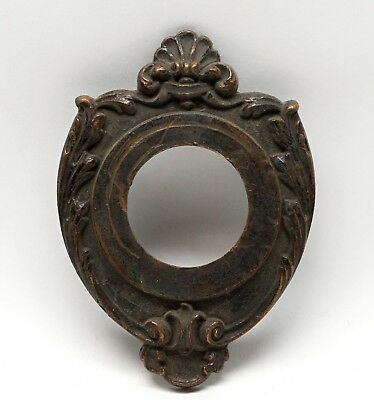 Victorian Bronze Antique Door Bell Cover