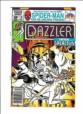 Dazzler No.10  : 1981 :   : Galactus Cover! :   : Mark Jeweler Variant! :