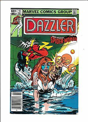 Dazzler No.15  : 1982 :   : Mark Jeweler Variant! :