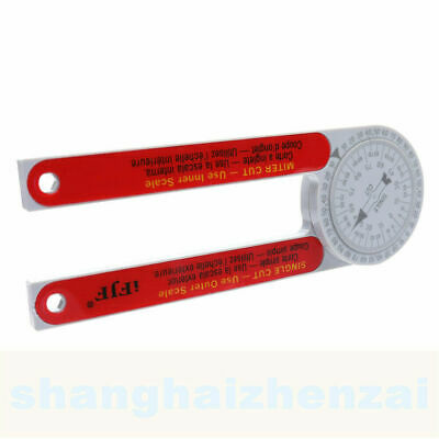 505P-7 Miter Saw Protractor Red