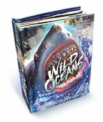 Wild Oceans: A Pop-Up Book With Revolutionary Technology 9781416984672